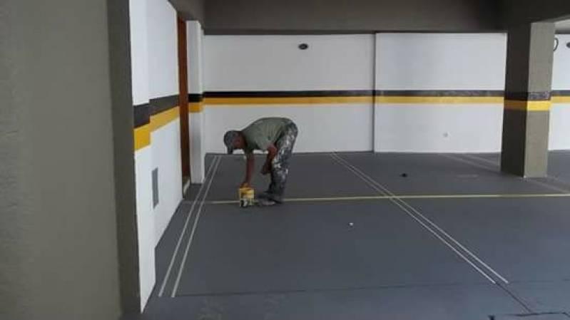 Serviço de Demarcação de Vagas para Estacionamento Mairiporã - Demarcação Vagas Garagem Condomínio