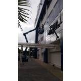 lavagem de fachada de prédio residencial Juquitiba