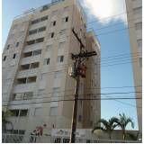 pintura para fachada de edifício Caieiras