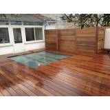 serviço de pintura em deck de piscina Carapicuíba